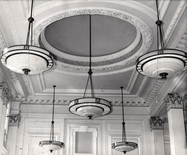 The Northern Echo: Midland Bank, interior, HSBC