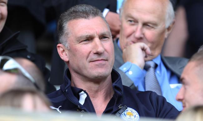 Nigel Pearson , Leiiester City manager during the Sky Bet Championship match at the John Smith's Stadium, Huddersfield..