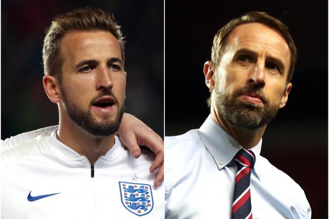 Harry Kane and Gareth Southgate want a positive response to Friday's defeat