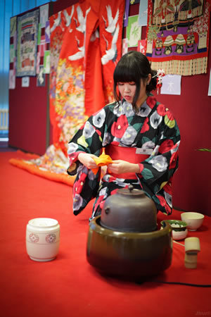 Japanese students in Durham display flavour of their country's culture, food and music