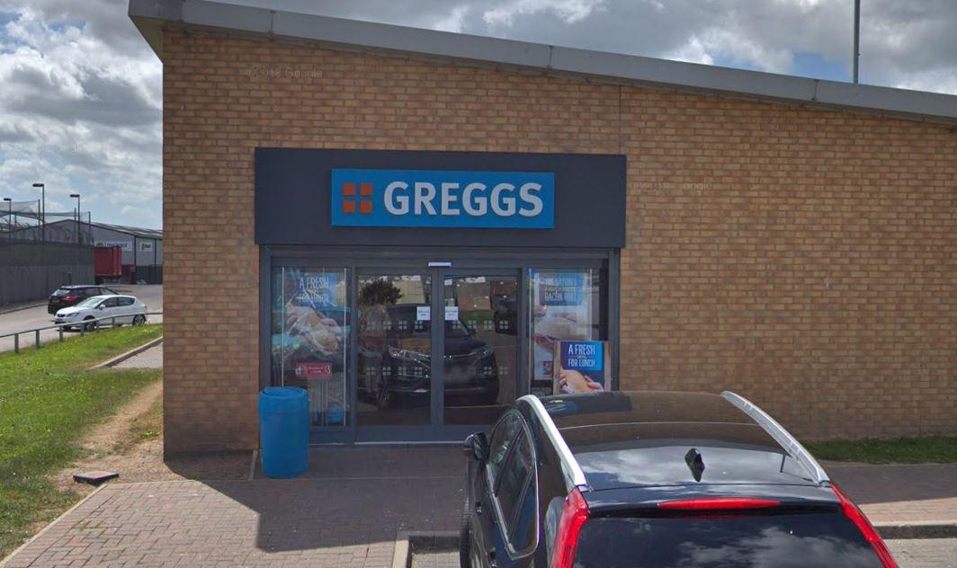 Thieves attempt burglary at Greggs on Portrack Lane in Stockton