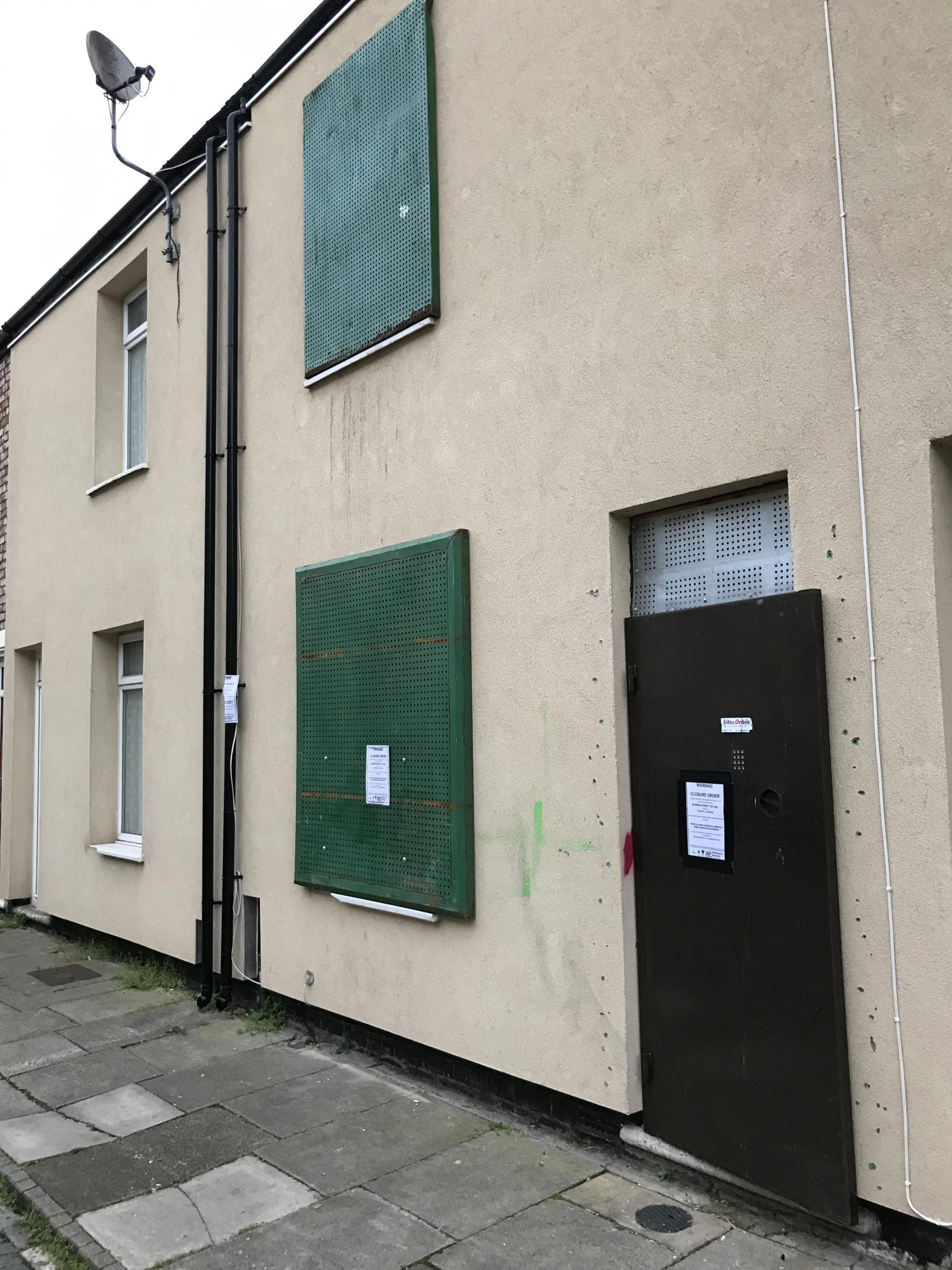 Drugs den in Stockton is shut down by Cleveland Police and Stockton Council