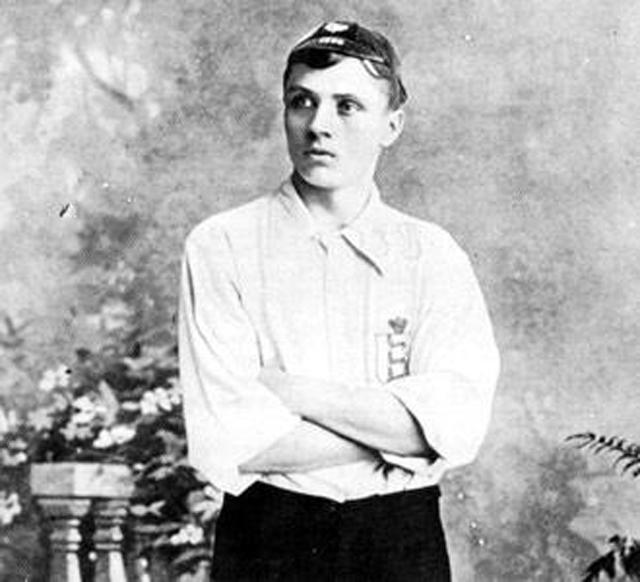 Steve Bloomer, England's joint 11th highest scorer with Harry Kane