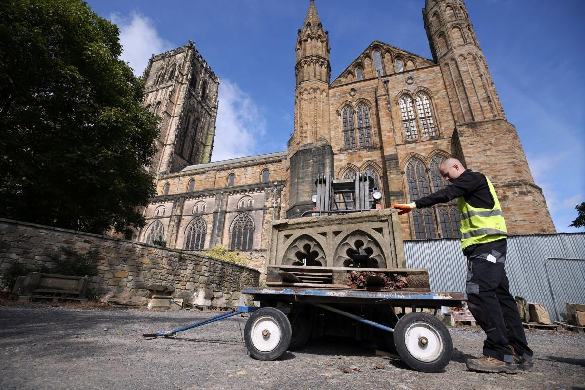 Durham Cathedral staging its first fundraising stone auction