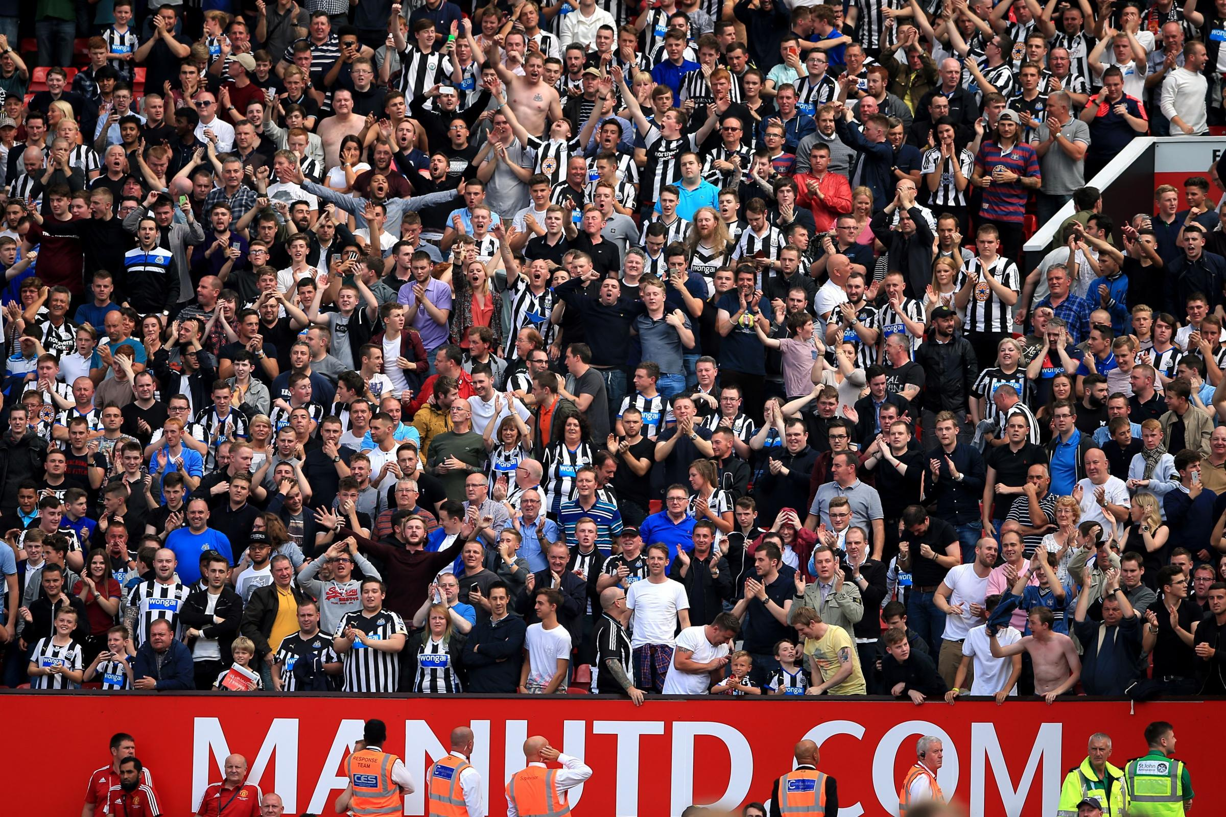 Newcastle's TV matches for December and January are chosen