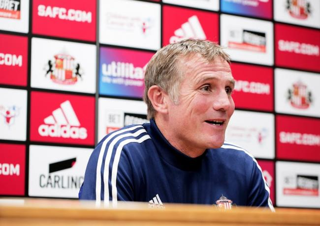 Phil Parkinson conducted his first press conference as Sunderland manager yesterday (Picture: Stuart Boulton)