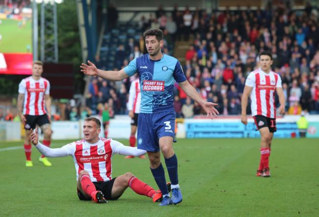Charlie Wyke damaged his ankle in Sunderland's weekend defeat at Wycombe