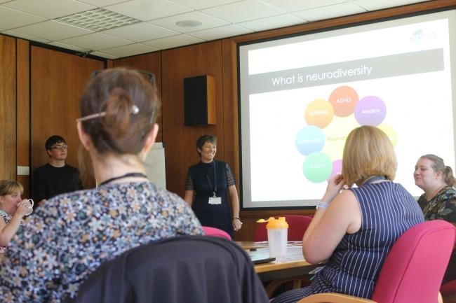 North East Autism Society experts deliver the training at Darlington Town Hall