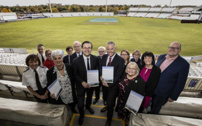 The launch of the County Durham Vision 2035 Picture: LEE DOBSON