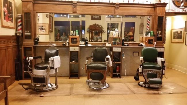 Barber shops have have taken a front seat in male grooming