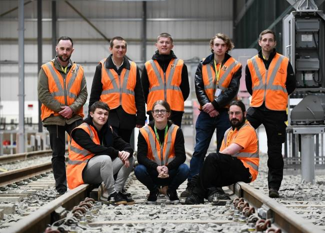 New apprentices are looking to kick start their careers with the Tyne and Wear Metro.