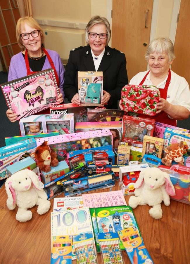 This year's Salvation Army Toy Appeal has received significantly less donations than in usual years Picture: SARAH CALDECOTT