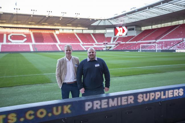 TS3 is an official Business Club Partner of Middlesbrough FC