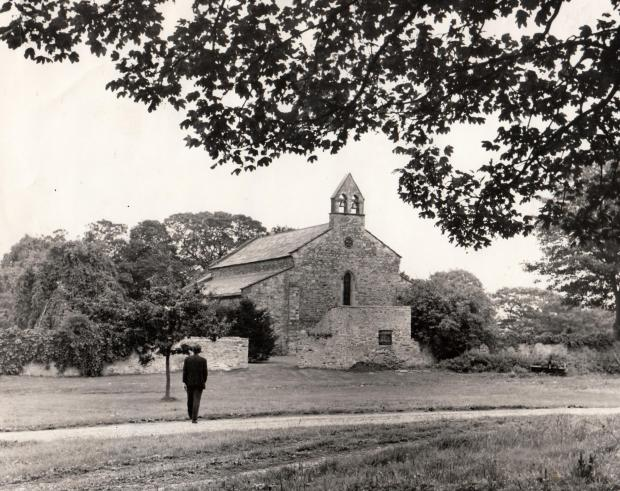 The Northern Echo: Bishop Middleham church in 1970