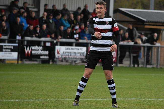 Darlington captain Terry Galbraith. Picture: ANDY FUTERS