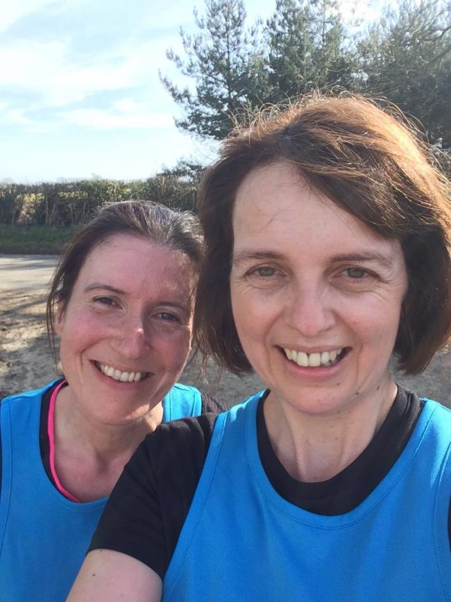 Helen Coulthard and Julie Shuttleworth