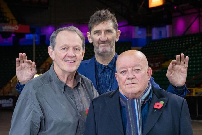 Kevin Whately, Jimmy Nail and Tim Healy will perform at Utilitia Arena in Newcastle next year as part of the Sunday for Sammy 20th anniversary show