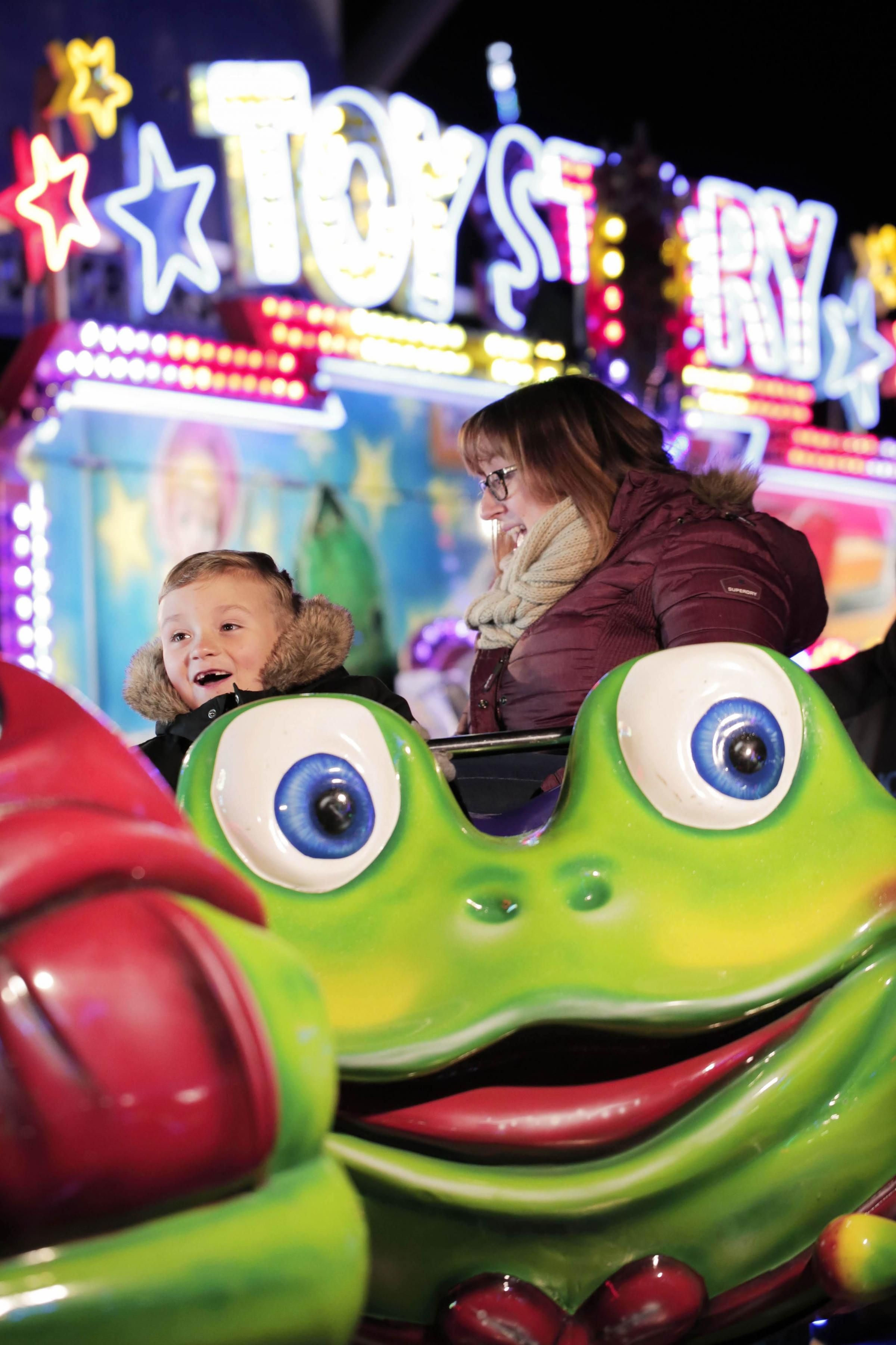 Pictures: Darlington Arena fireworks and funfair
