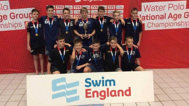 Members of Sedgefield Water Polo Club were crowned champions at a national tournament which saw them beat teams across the country at Sunderland Aquatic Centre