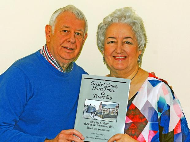 The Northern Echo: John and Stephanie Yearnshire with their new book