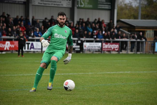 Goalkeeper Liam Connell. Picture: ANDY FUTERS