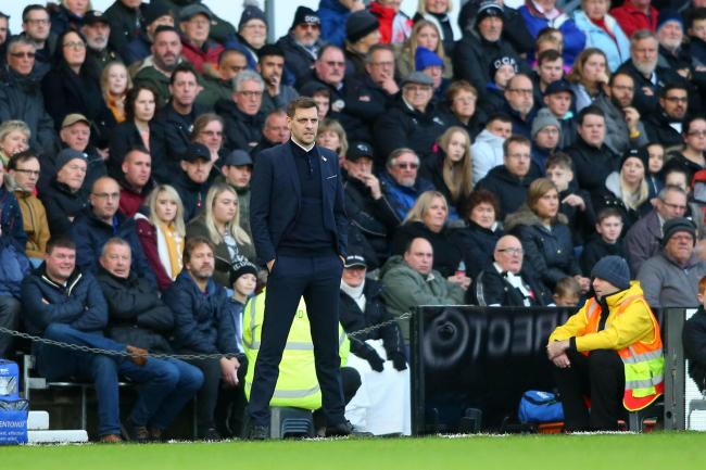 Derby County V Middlesbrough FC. Boro head coach Jonathan Woodgate. Picture: TOM BANKS.