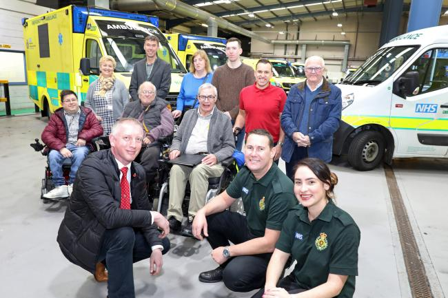 The NEAS is the first ambulance service in the country to completely redesign some of their vehicles                                        Picture: Helen Smith