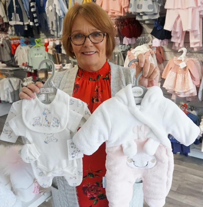 Retired teacher Ellen Leafe opens new clothing store