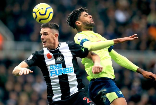 Newcastle United defender Ciaran Clark has undergone surgery after damaging his ankle in last month's defeat at Arsenal