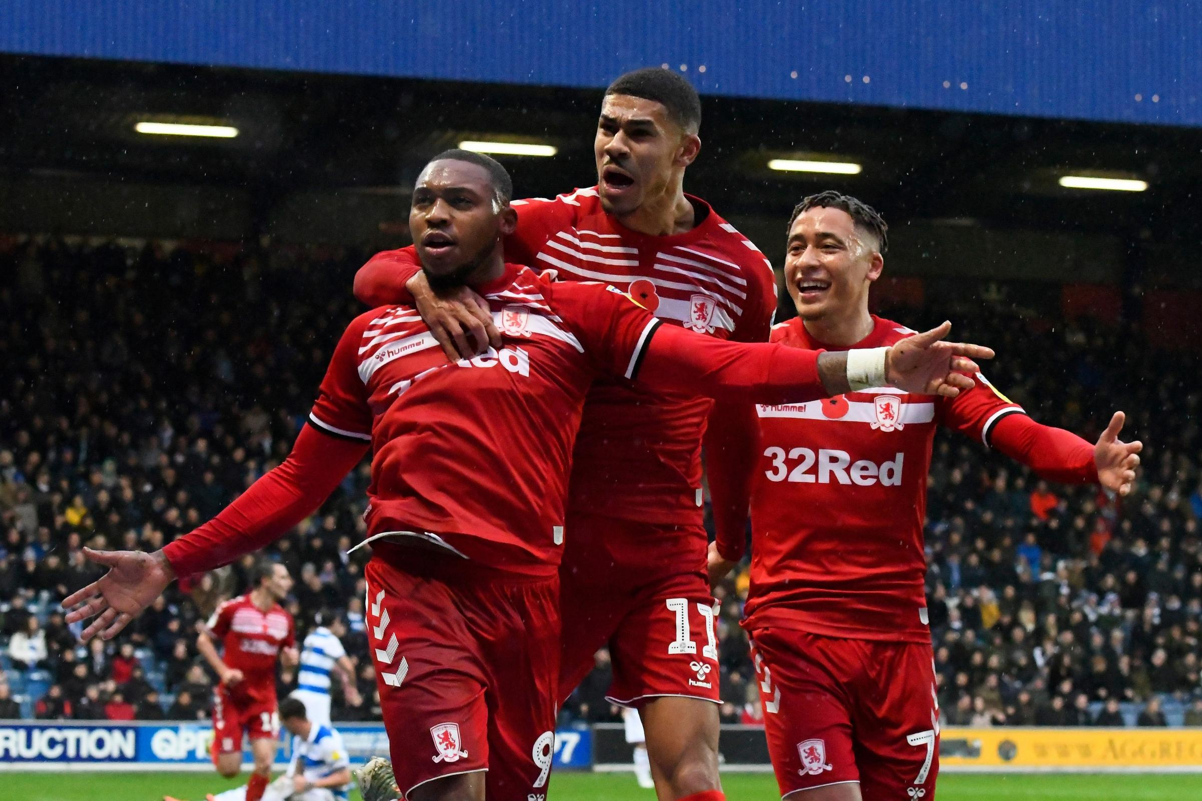 Middlesbrough's returning stars help secure a 2-2 draw at QPR