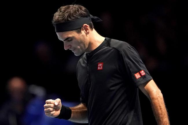 Roger Federer got off the mark with victory over Matteo Berrettini