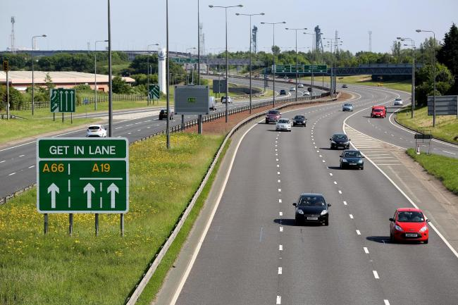 The A19, a key Tees Valley route Picture: Dave Charnley