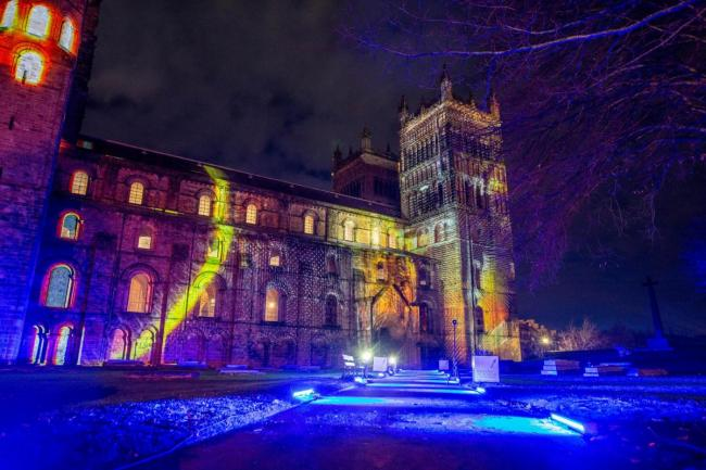 What visitors to this year's Lumiere festival will see during their trip around Durham City