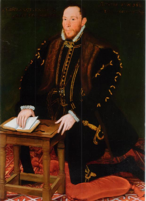 The Northern Echo: Sir Thomas Percy, Earl of Northumberland, in 1566 – three years later, he hatched his rebellious plans at his estate at Topcliffe