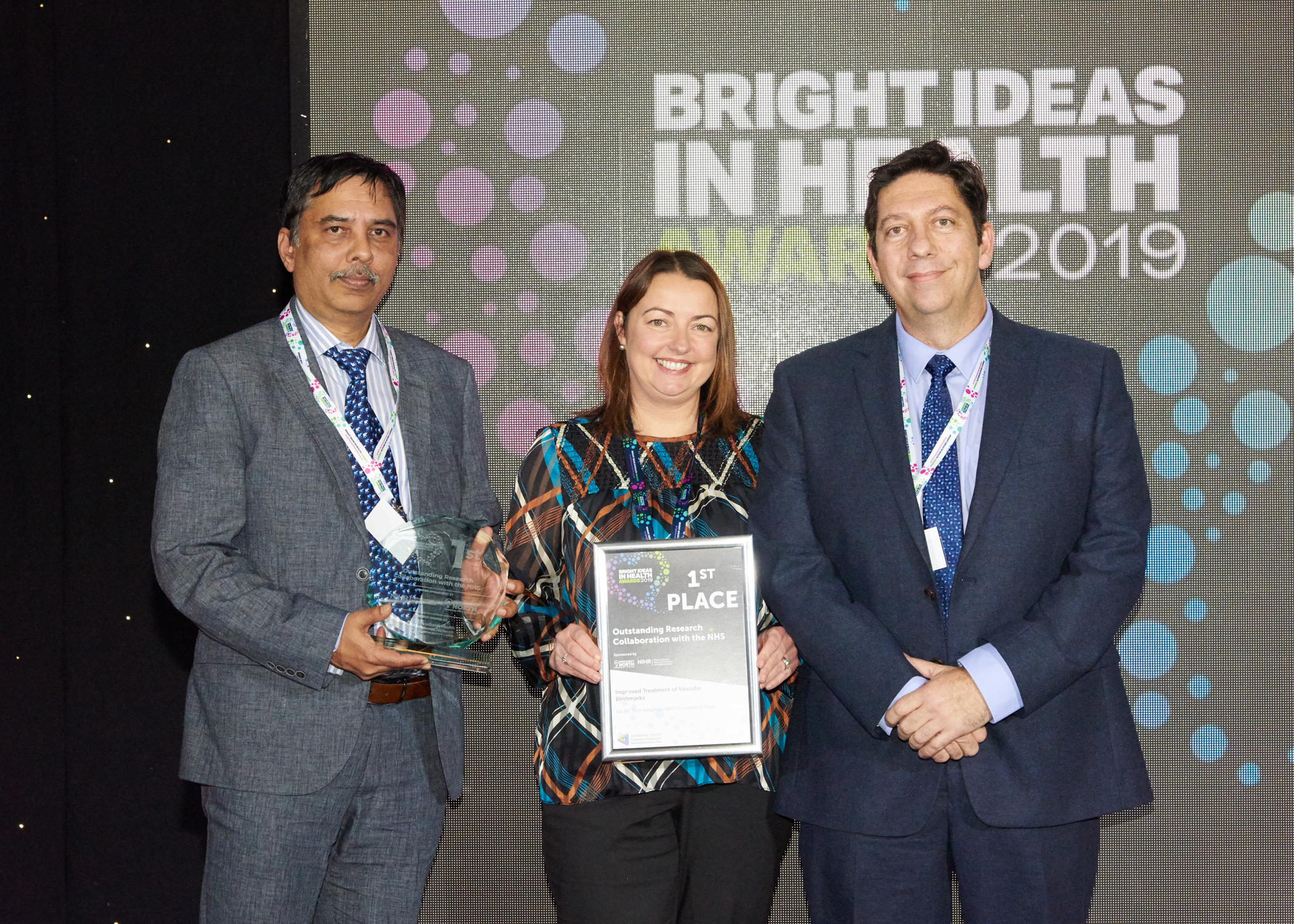 South Tees and Darlington NHS Trusts win awards for innovation - The Northern Echo