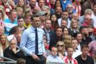 LONDON, ENGLAND 26th May Sunderland manager Jack Ross during the Sky Bet League 1 Play Off Final between Sunderland and Charlton Athletic at Wembley Stadium, London on Sunday 26th May 2019. (Credit: Mark Fletcher | MI News).