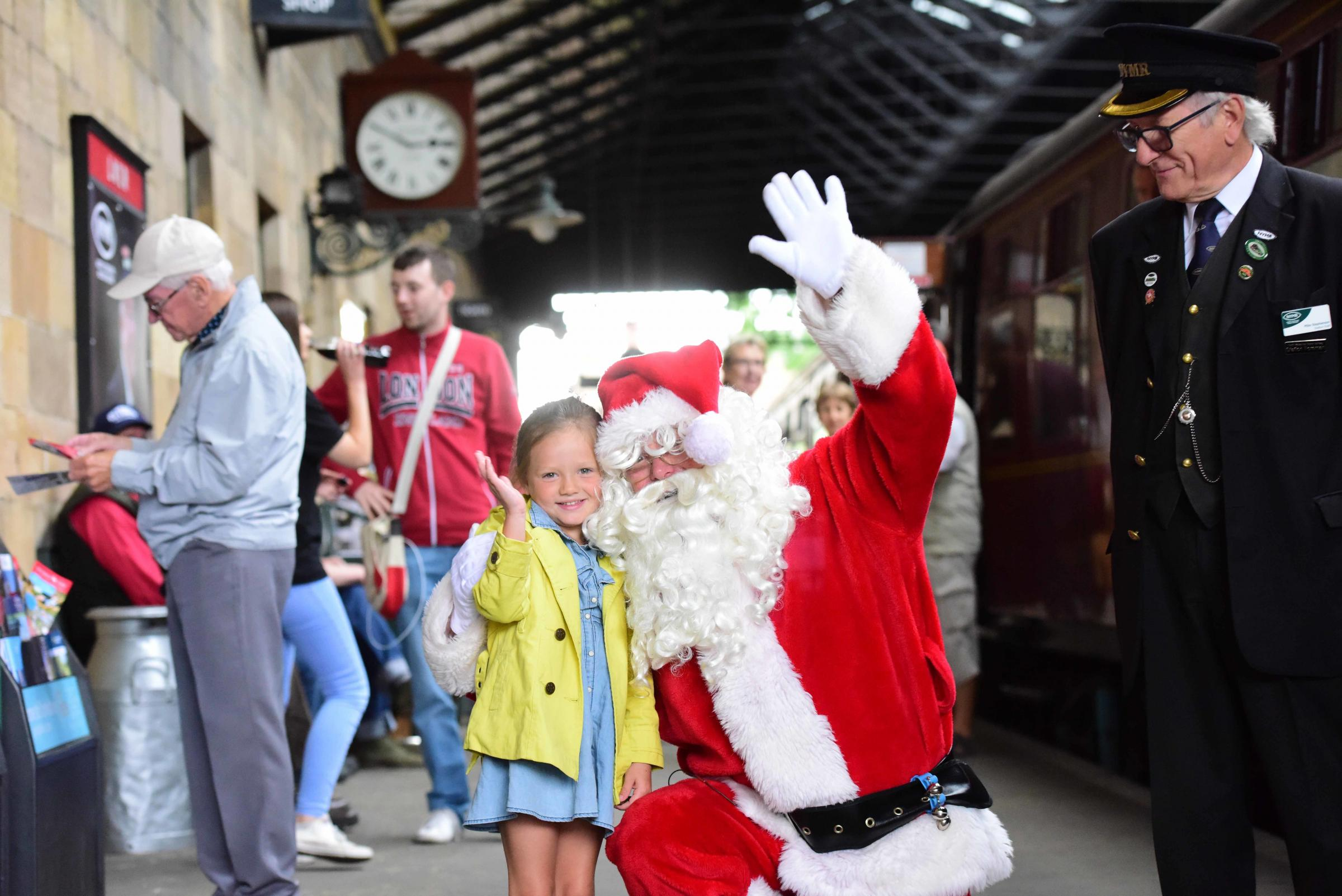 Trip on the Santa Express up for grabs on North York Moors Railway - The Northern Echo