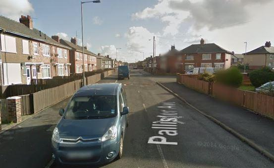 The incident happened on Pallister Avenue in Middlesbrough Picture: GOOGLE