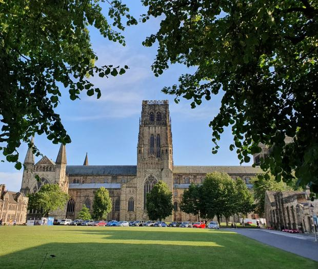 The Northern Echo: A view of Palace Green and Durham Cathedral