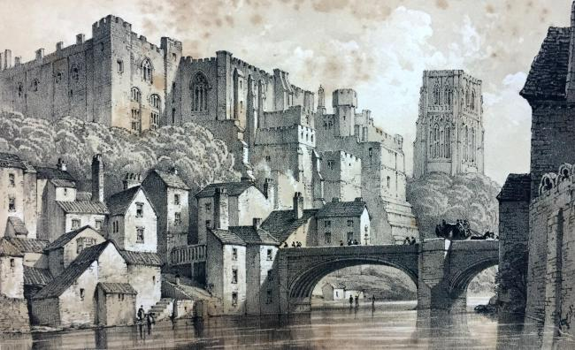 Durham from antiquarian books archive