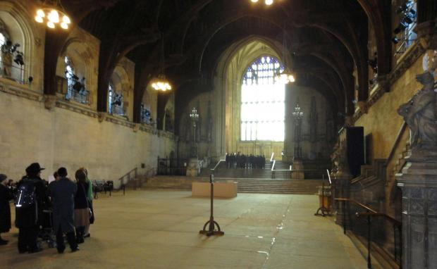 The Northern Echo: Westminster Hall, the oldest part of the Palace of Westminster, started in 1097..