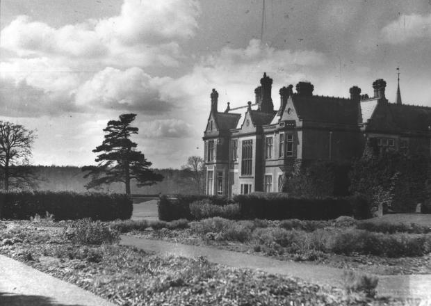 The Northern Echo: Alfred Waterhouse's east elevation of Rockliffe, here in the 1930s, is an extraordinary mix of styles