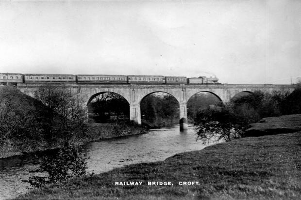 The Northern Echo: The Tees Viaduct – it's almost as if Alfred Backhouse designed his grounds for the mainline bridge to be the endpoint of one of the vistas