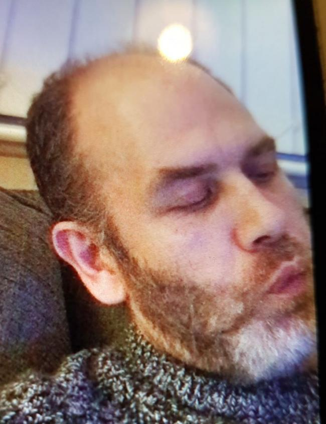 David Lindley, 48, last seen in Spennymoor