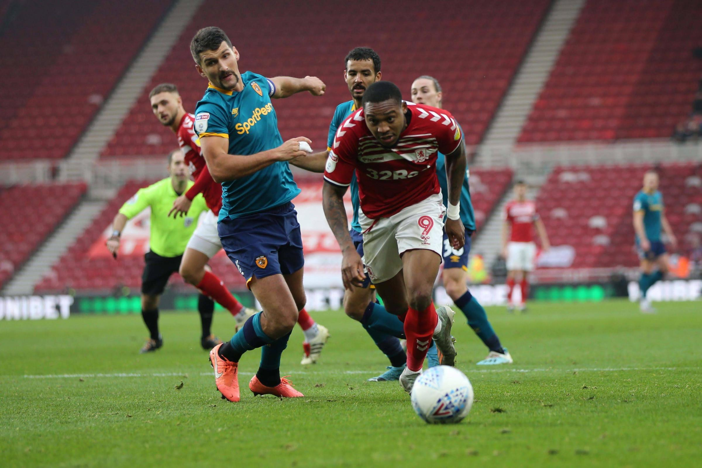 Boro's Britt battle and Woodgate considers defensive targets