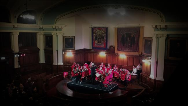 The Christmas concert at Rehills Durham Miners Hall will be on December 7, 2019