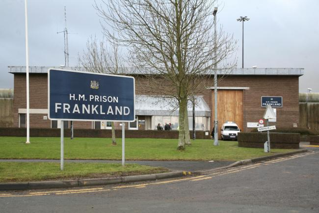 Acused inmate claims he came under attack first during workshop session at HMP Frankland, Durham