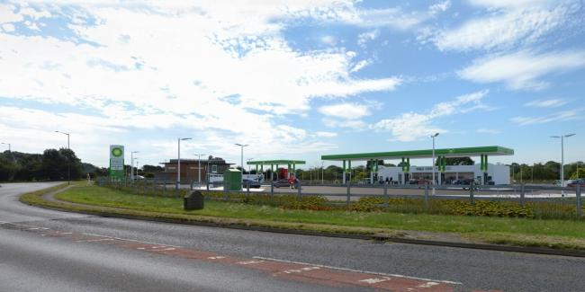 An impression of how the Thirsk petrol station development could look