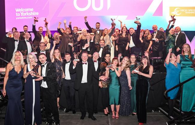 The winners at the White Rose Awards 2019