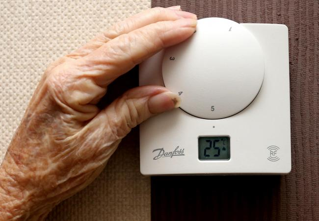 People across the Tees Valley living without central heating and in fuel poverty look set to be given help to reduce their energy bills. Picture: PA Wire